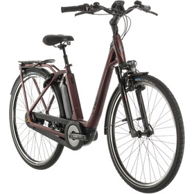 Cube Town Hybrid EXC 500 Easy Entry, red/black